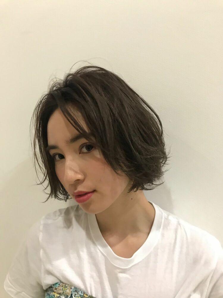 ☆お客様スタイル☆レイヤーボブ Belle吉祥寺カット、カラー、パーマ 21450円