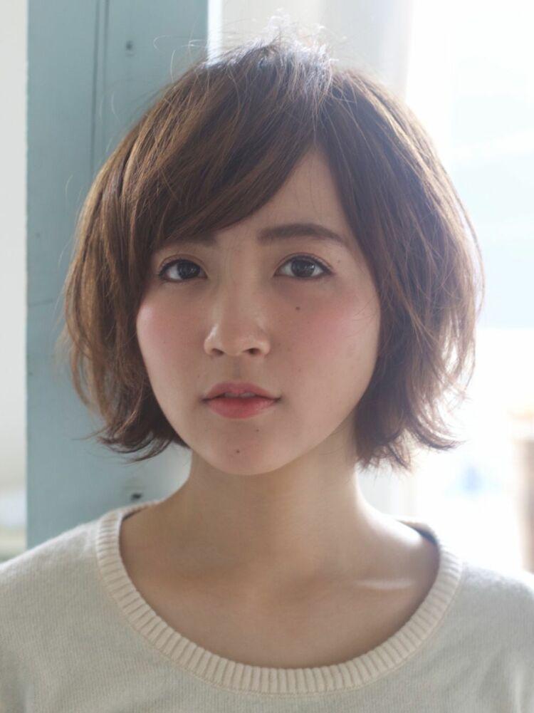 ☆お客様スタイル☆ひし型ボブ Belle吉祥寺カット、カラー 13200円