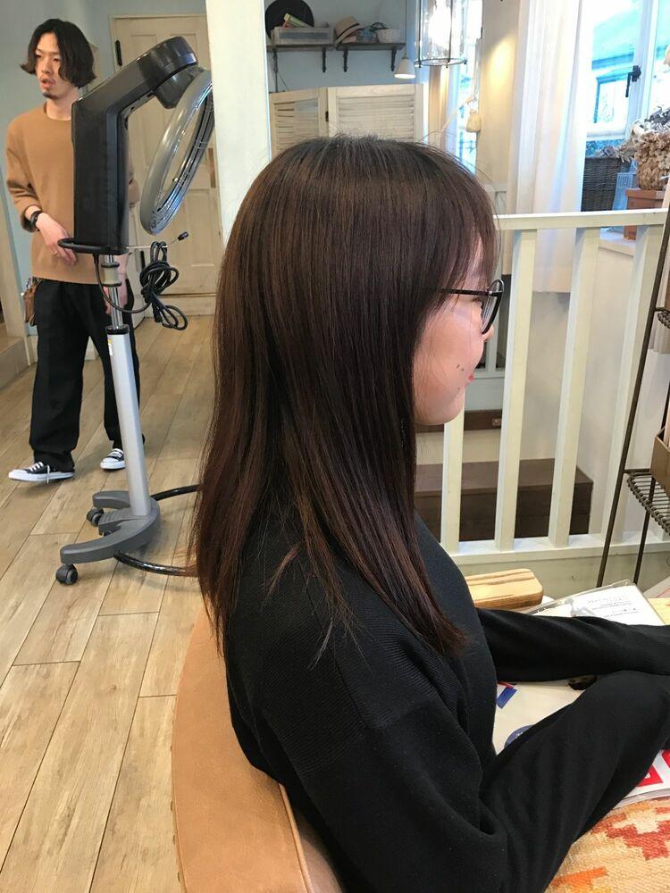 お客様スタイルafter ← before バッサリショート Belle吉祥寺カット 6050円