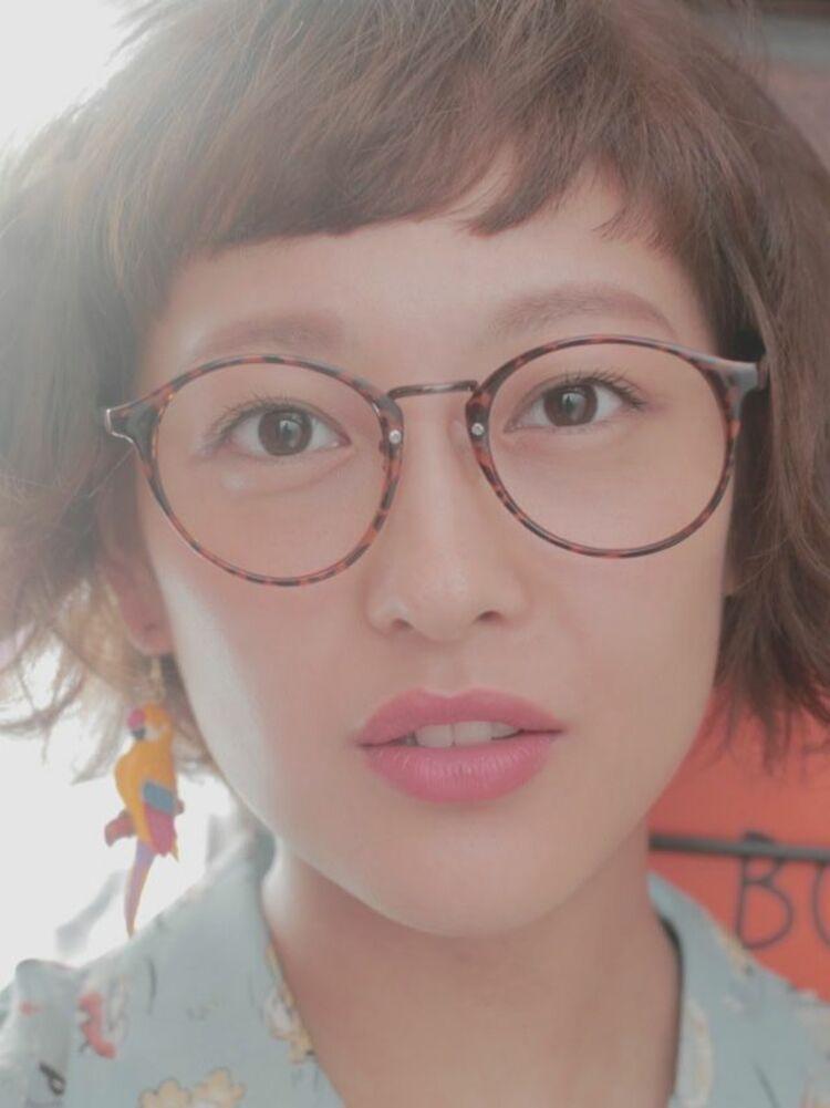 無造作ショートボブ Belle吉祥寺カット、カラー、パーマ 21450円