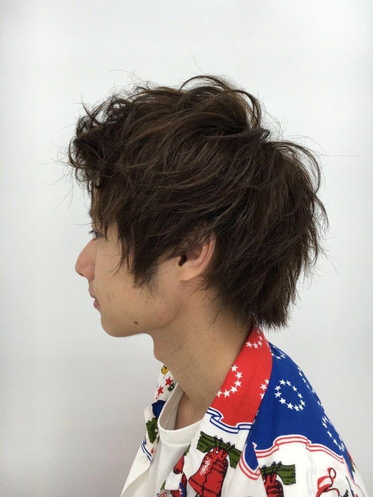 レイヤー束感ショートBelle吉祥寺カット、カラー、パーマ 21450円