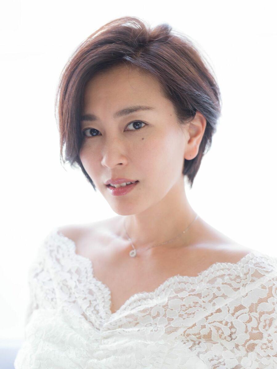 30代オススメ、木村佳乃さん風、大人ショート☆