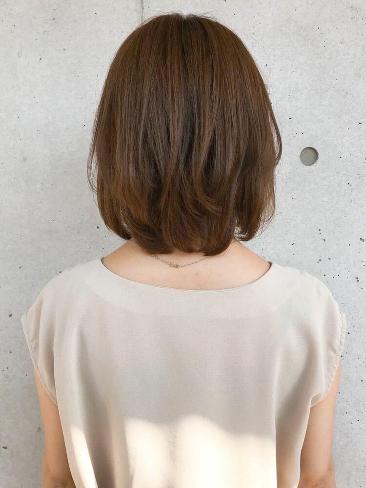 内巻き/外ハネボブ/透明感カラー/ひし形ボブ