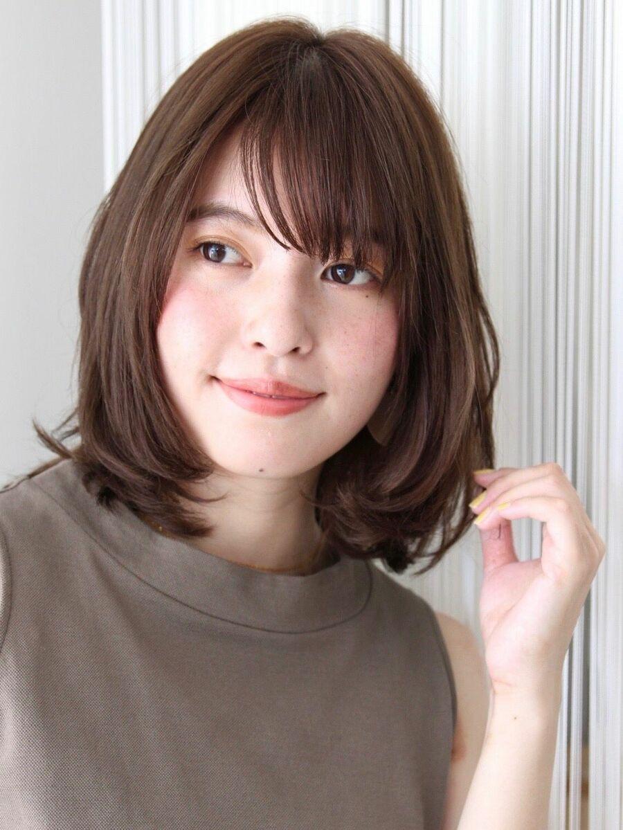 ふんわり愛されシルエット顔の形が綺麗に見えて小顔効果も!ご自宅での再現力高いです。