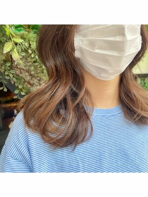 髪質改善カラー🦋
