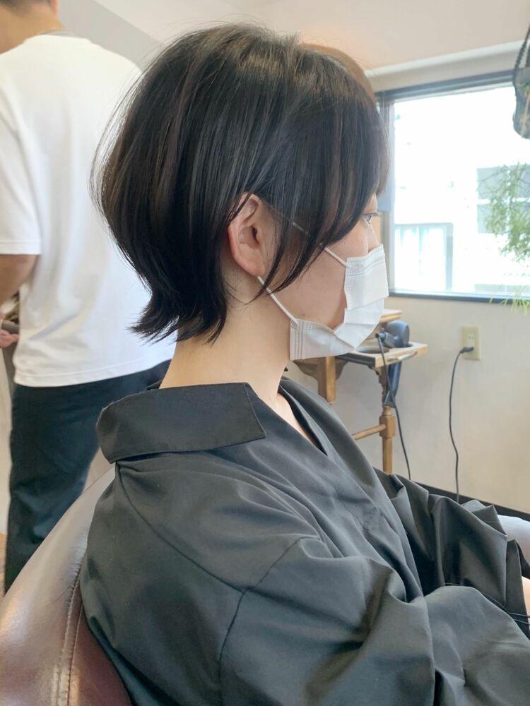 【畑中正敏】吉祥寺 黒髪ショートウルフ