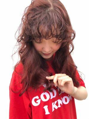 ガーリーな赤毛 ♡
