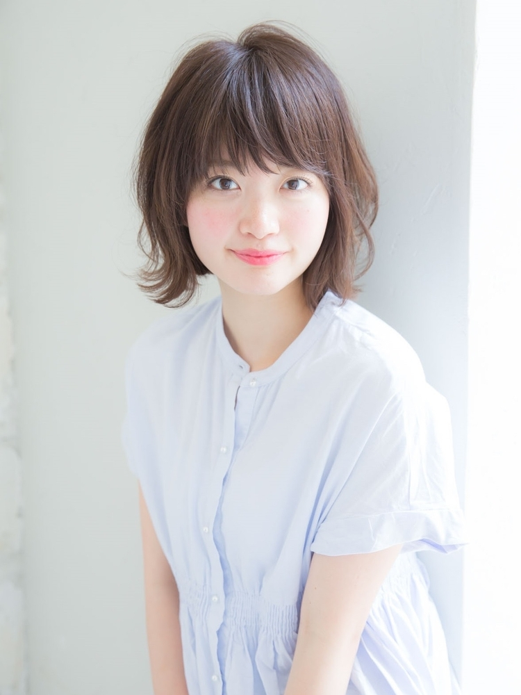 「joemi 新宿小顔カット」 髪質改善 ミディアム (大島幸司)