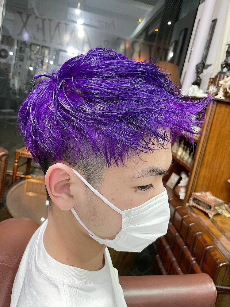 韓国系・メンズジェットモヒカン