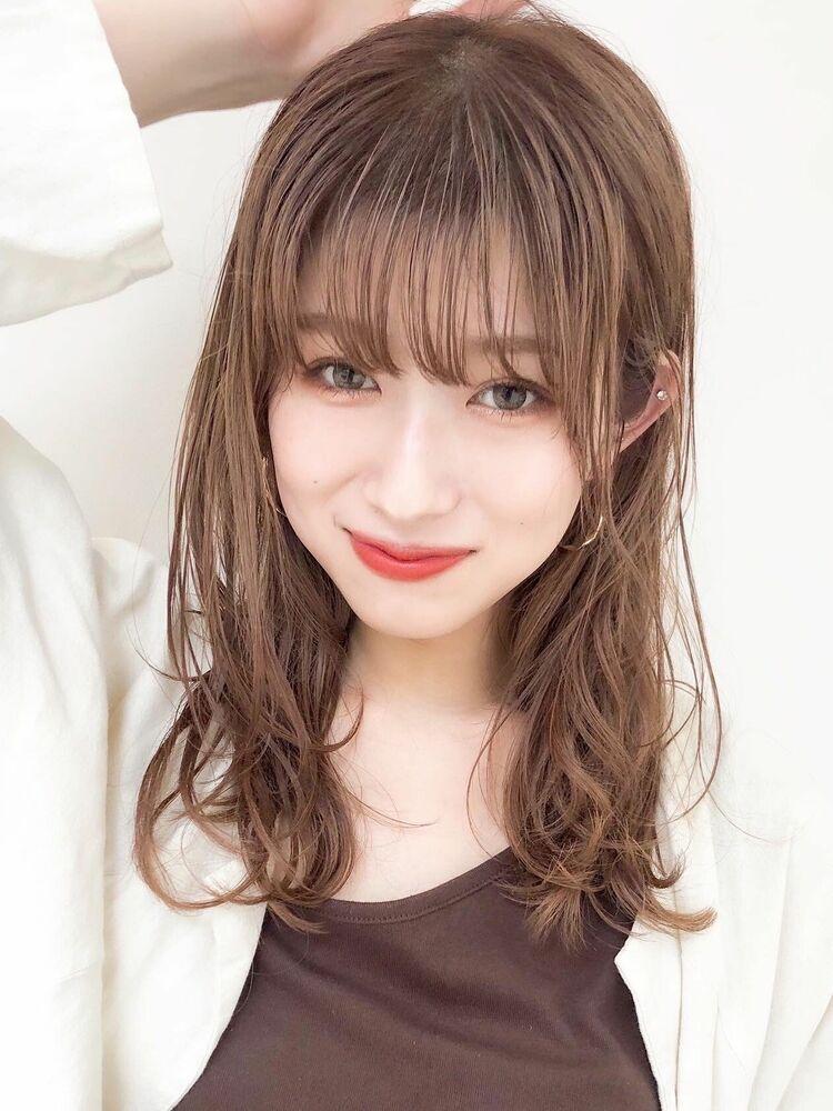 デジタルパーマ小顔カットモテ髪