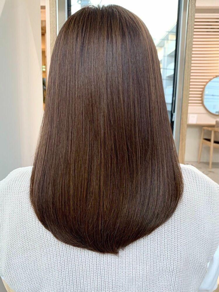 髪質改善酸熱トリートメントうる艶ミディアム