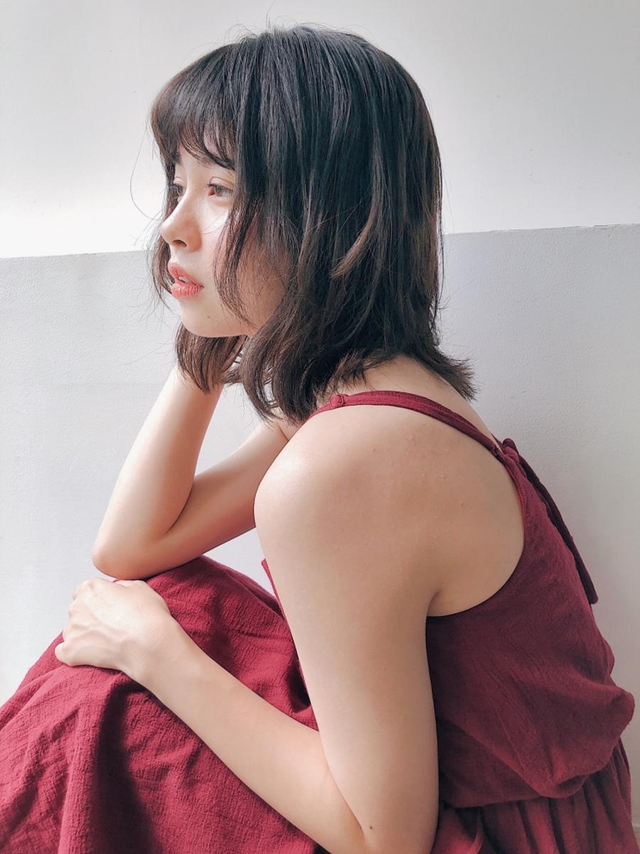 ワンカールで作るレイヤーミディアム☆艶っぽカラーでオトナ女子に