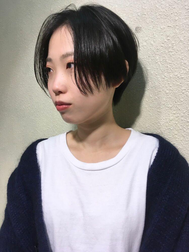 『人気ハンサムショート×ストレートヘア』boasorte 米内