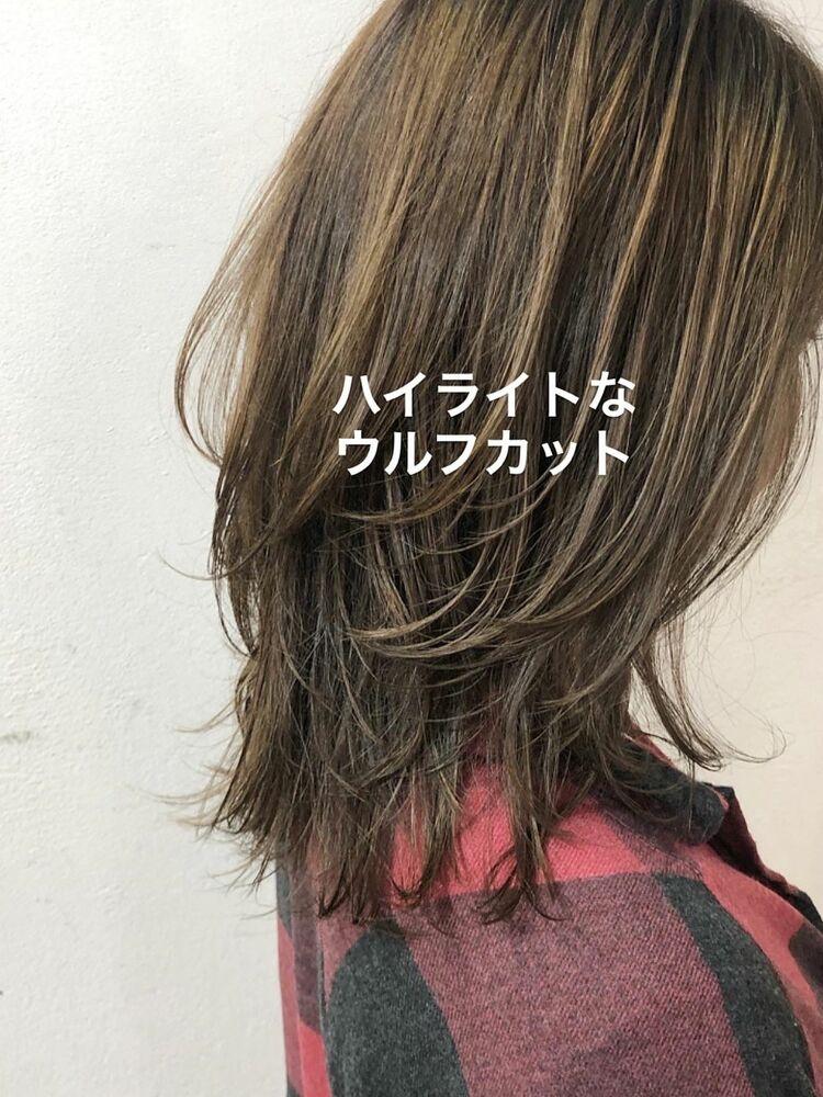 ナカシウルフで検索!@naokinakashima可愛いウルフカットはバランスが本当に大事✂︎