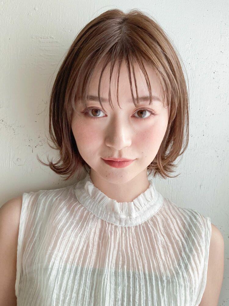 くびれボブ レイヤーボブ kyli表参道 時田