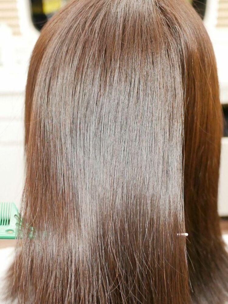 癖毛対応 髪質改善 ケアカラー