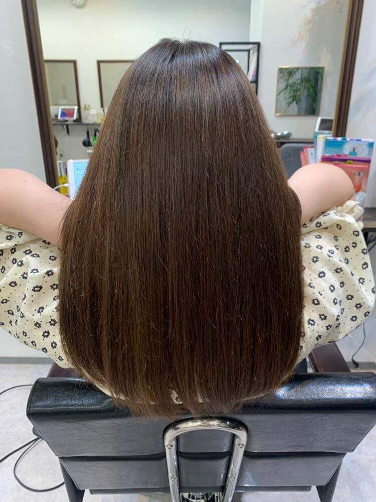 🌟髪質改善で、脱 縮毛矯正🌟