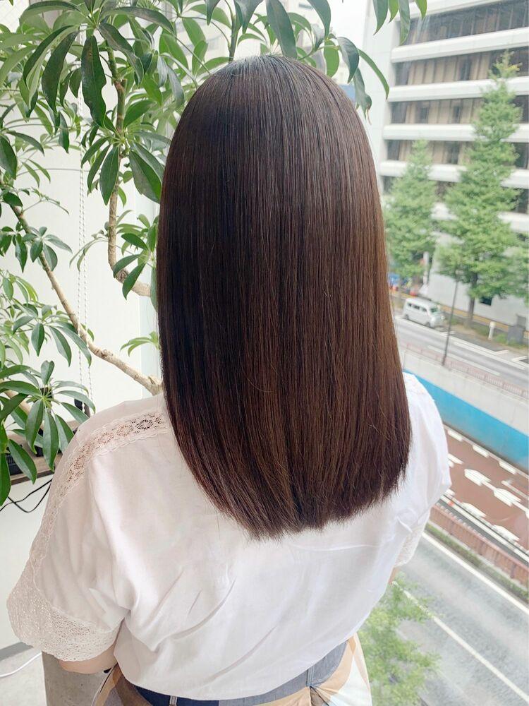 🌟髪質改善カラーの1ヶ月後の色待ち🌟