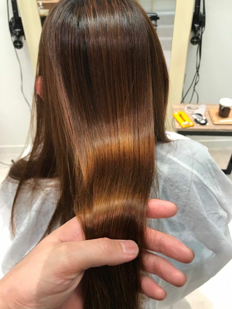 髪質改善ストレート 感動ストレート