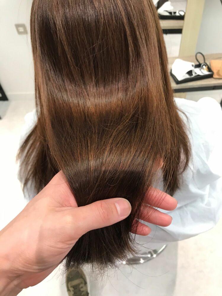 髪質改善ストレート 日々のアイロンからの解放