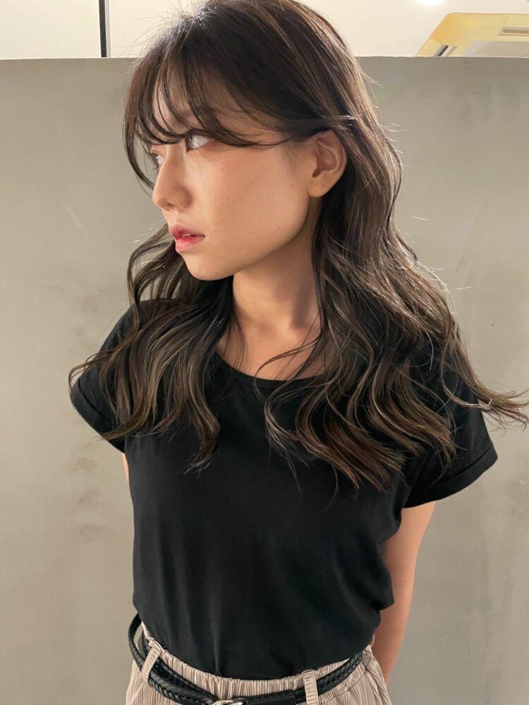 ハイライト ハイライトカラー レイヤーカット モテ髪
