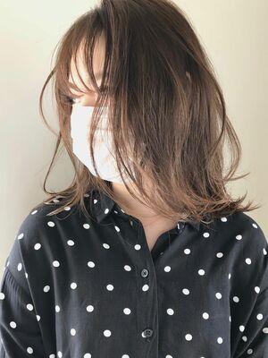 ブリーチなし ライトベージュ addict表参道 井坂
