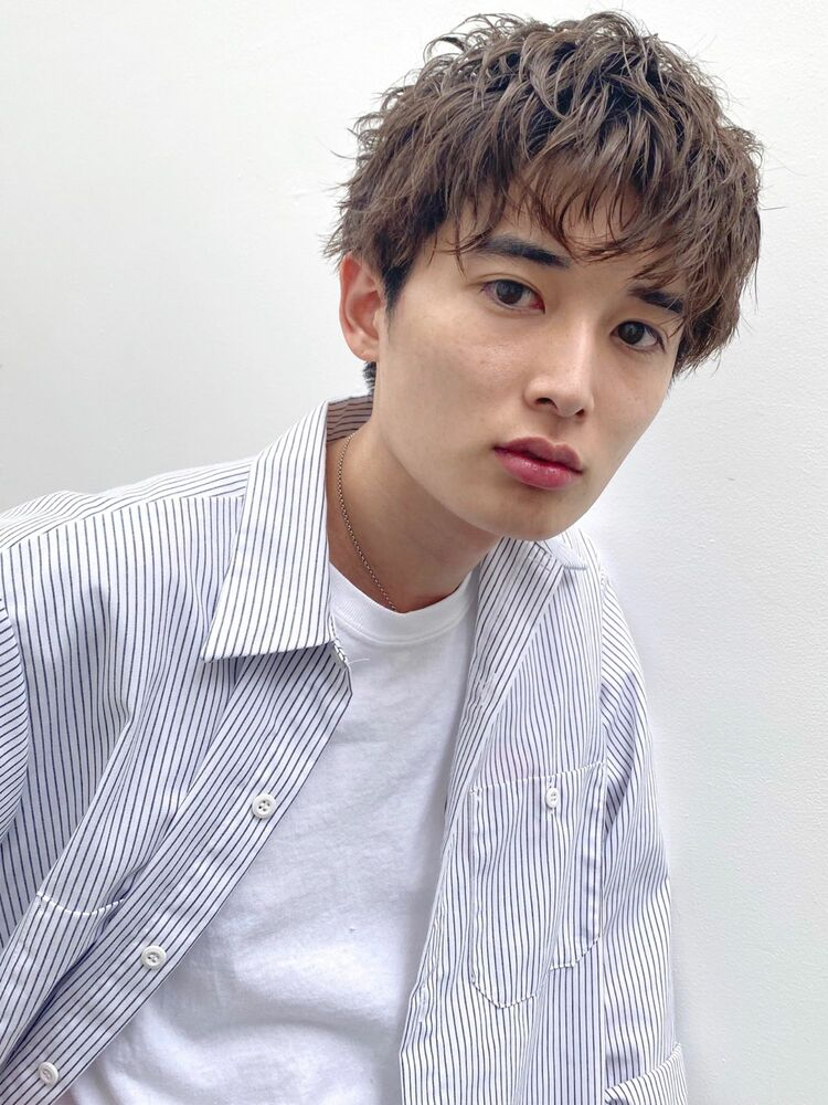 マッシュウェーブ(人気NO.1)メンズカット+似合わせパーマ 10450円 → 8800円