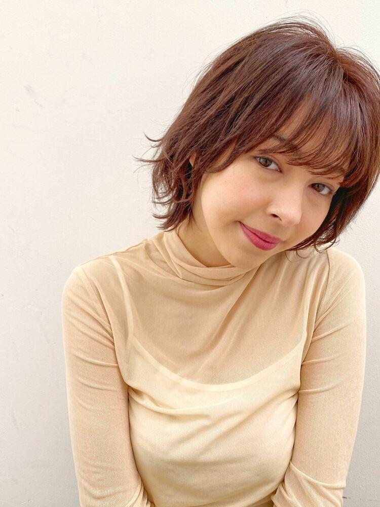 スイングミディ(人気NO.1☆)カット+透明感カラー+トリートメント 14850円 → 8800円