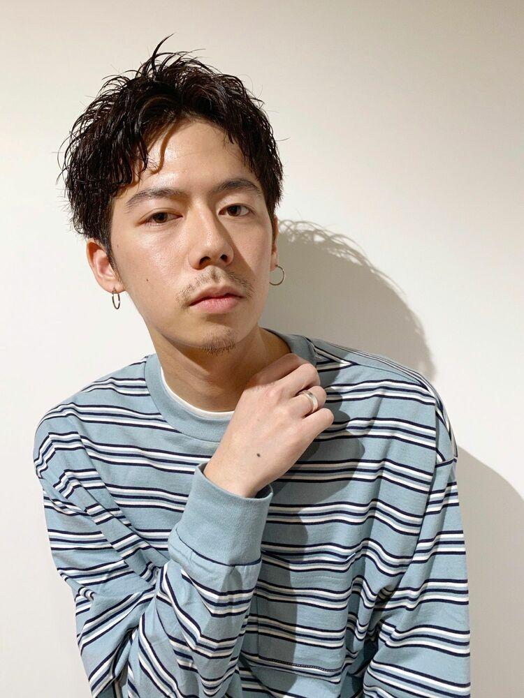 メンズカット+似合わせパーマ 10450円 → 8800円