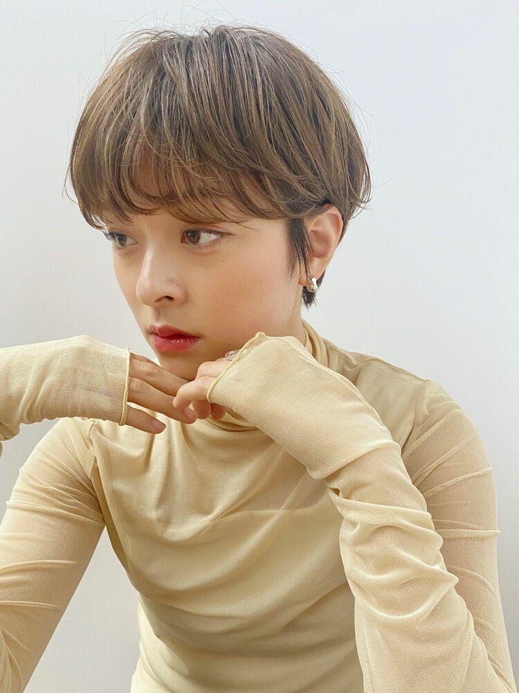 マッシュショート(人気NO.1☆)カット+透明感カラー+トリートメント 14850円 → 8800円