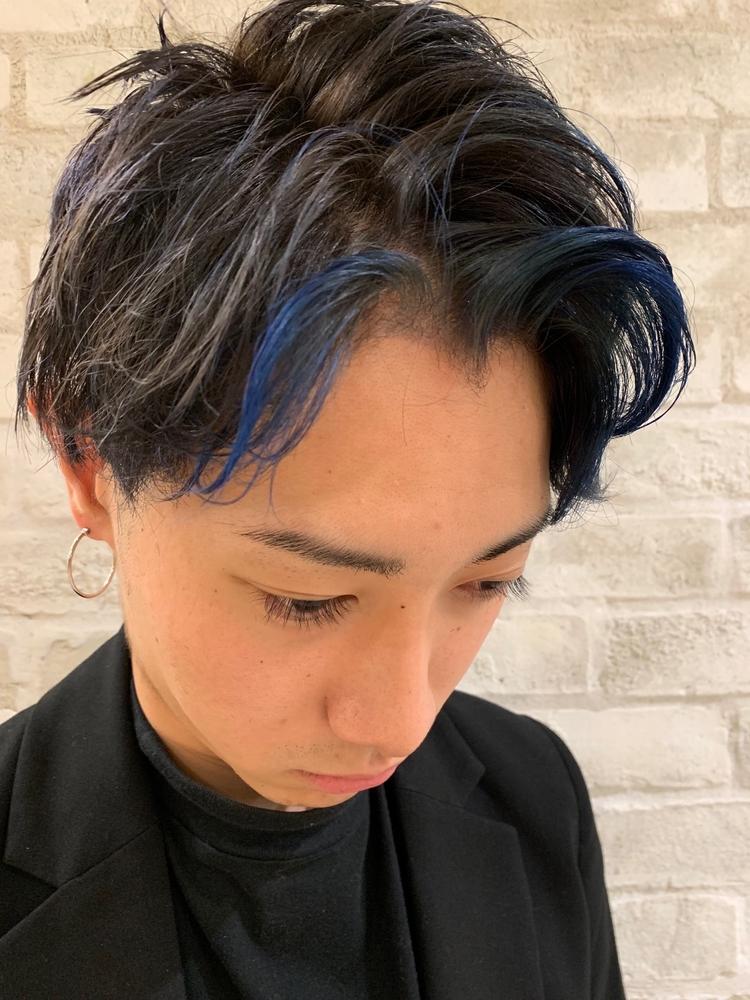 joemi by unami/新宿駅直結 土井陸アクセサリーカラー×スキンフェードアップバング