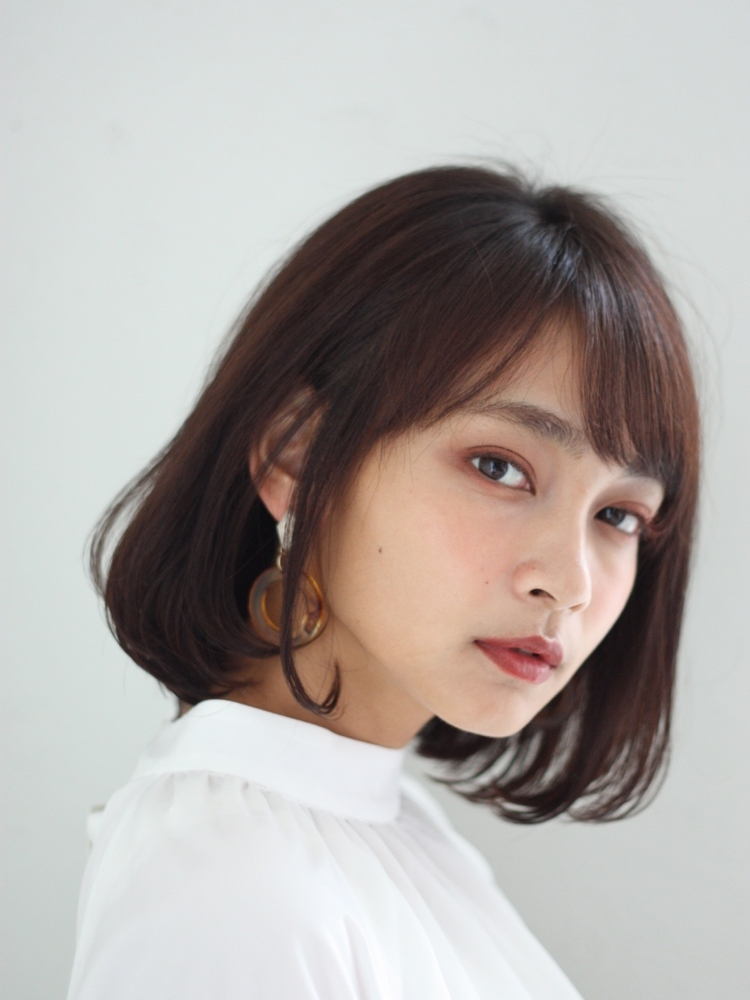 joemi by unami/新宿駅直結 土井陸丸みがかわいいシンプルボブ