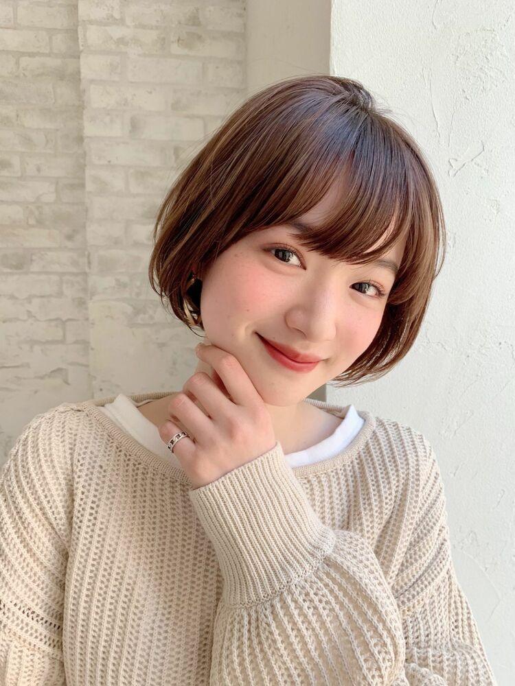 joemi by unami/新宿駅直結 丸みで女性らしさを!大人気ショート女子
