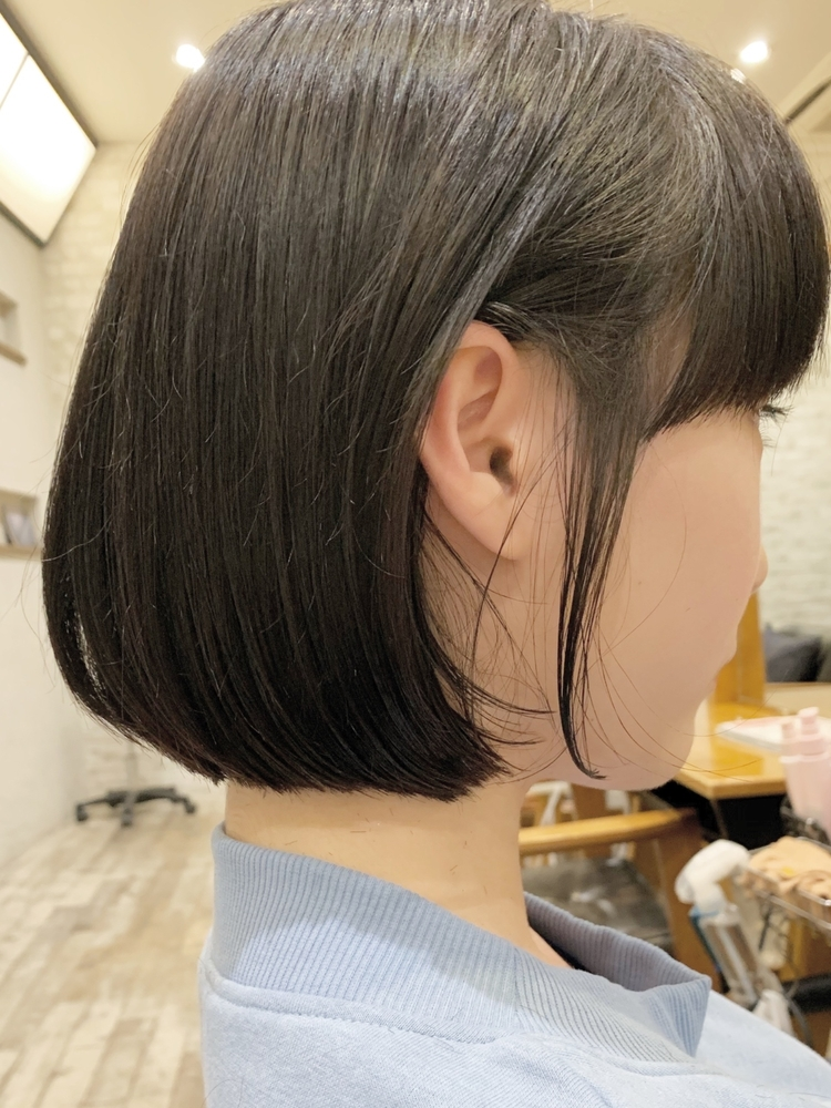 joemi by unami/新宿駅直結 土井陸丸み切りっぱなしボブ