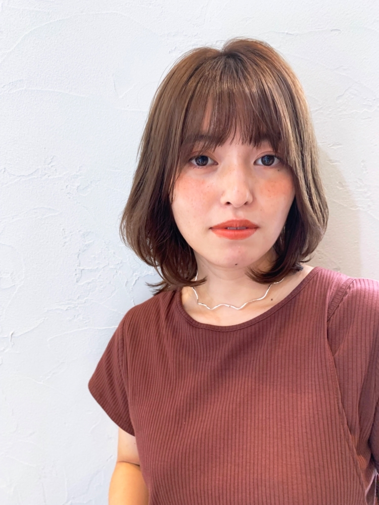joemi by unami/新宿駅直結 土井陸レイヤー内巻きボブ