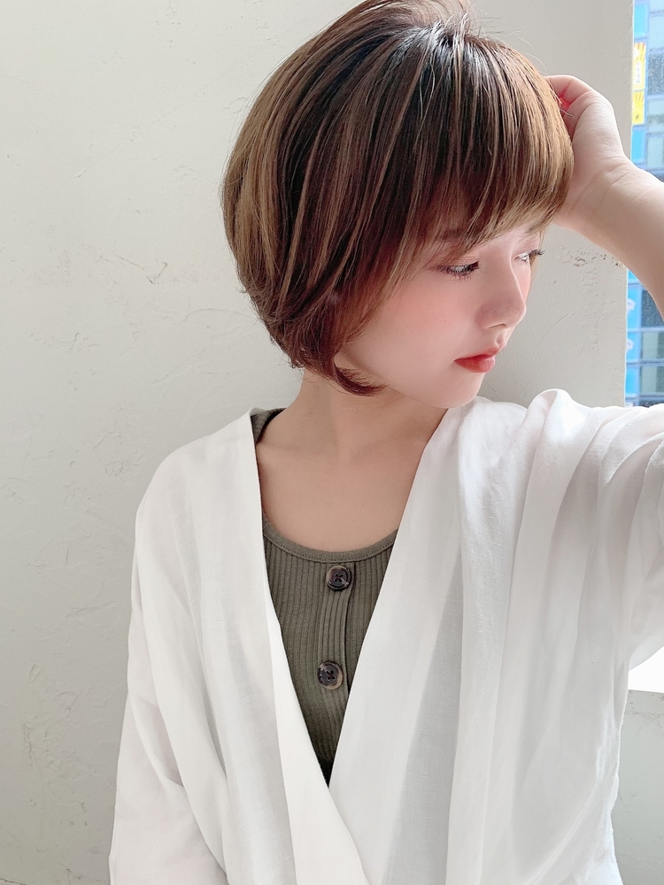 joemi by unami/新宿駅直結 土井陸小顔でかわいいショートミニボブ