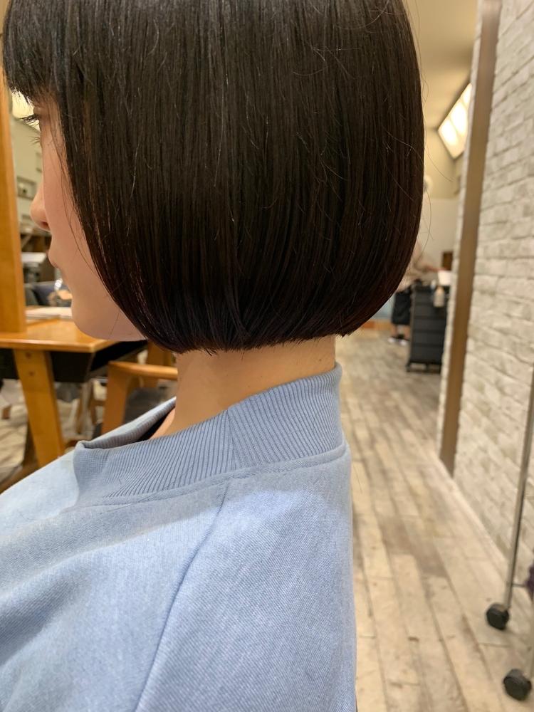 joemi by unami/新宿駅直結 土井陸ラインにこだわった丸ボブ