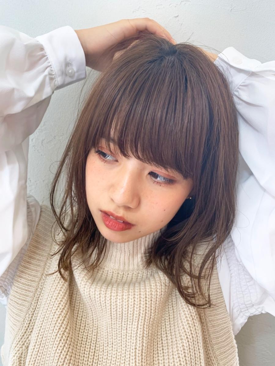 joemi by unami/新宿駅直結 土井陸柔らかいミックスレイヤーロブ