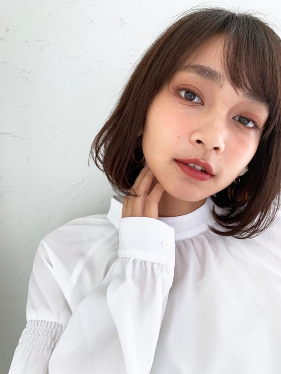 joemi by unami/新宿駅直結 土井陸内巻きでおしゃれ大人ボブ