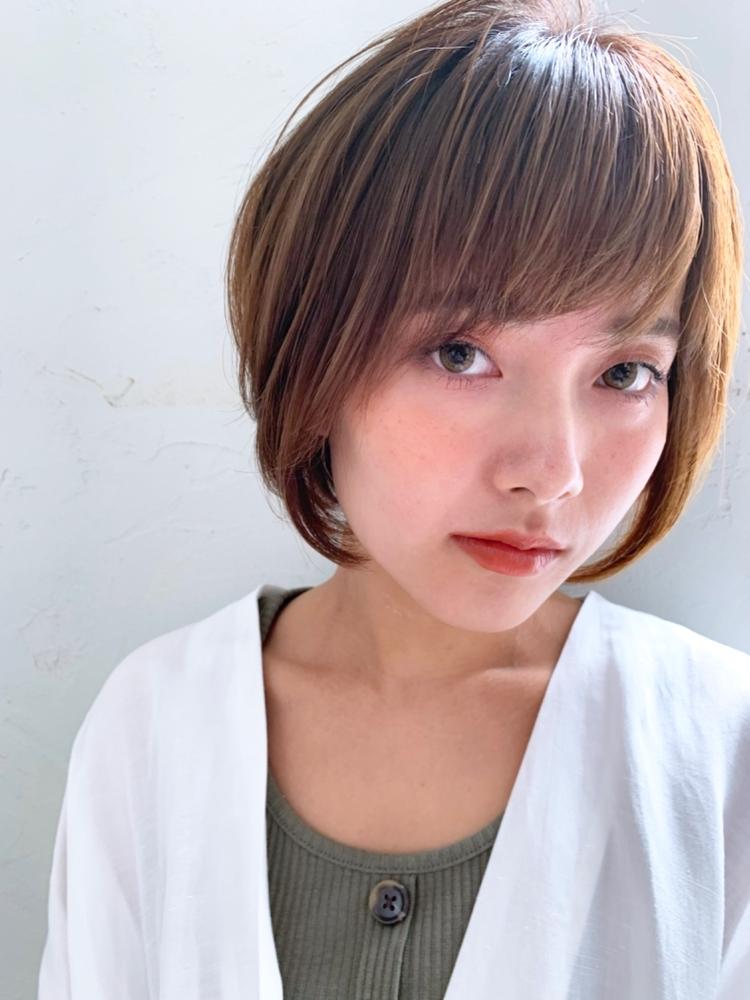 joemi by unami/新宿駅直結 土井陸アゴグラデーションボブ
