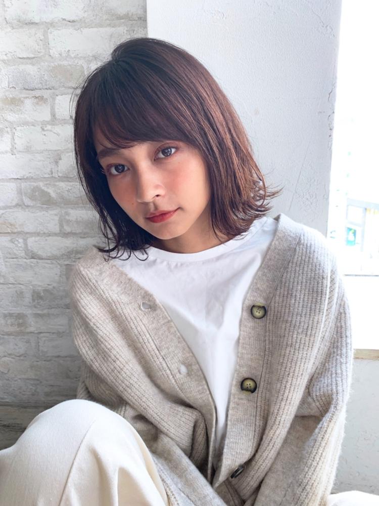 joemi by unami/新宿駅直結 土井陸外ハネでおしゃれかわいい大人ボブ