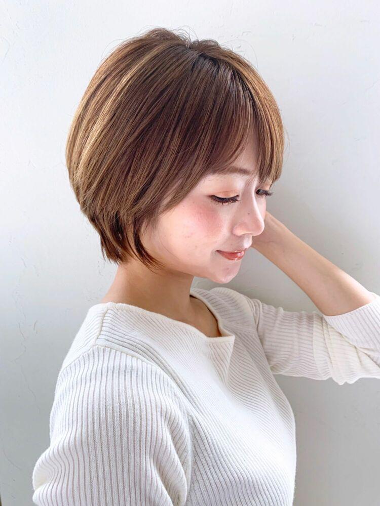 joemi by unami/新宿駅直結 土井陸丸みくびれショートボブ