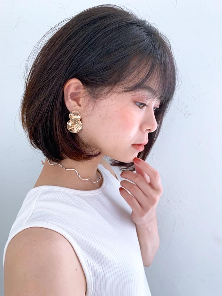 joemi by unami/新宿駅直結 土井陸シンプル内巻きボブ