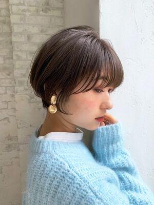 小顔まとまりショート/新宿駅直結どんな髪質でも小顔に今っぽいヘアにデザインします!