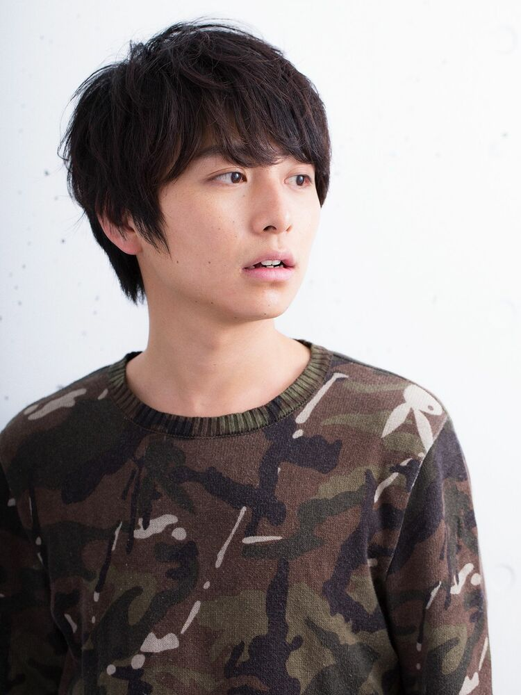 黒髪スマートマッシュ(HONEY表参道 SHIHO)