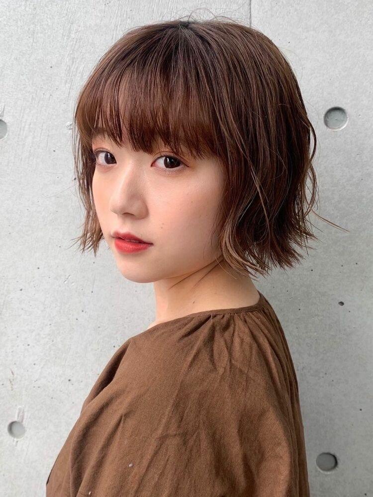 ミニボブ!!どんなアレンジでも最高可愛い!!Instagram→nagisa_kamada