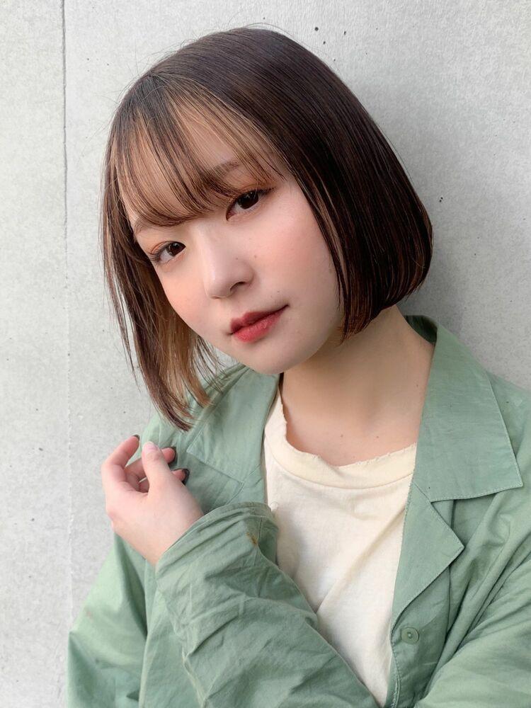 全力可愛い!インナーカラー×ボブスタイルInstagram→nagisa_kamada