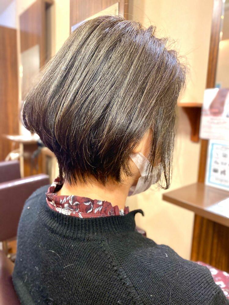 インスタ@kazuma.short_hairお客様ショート