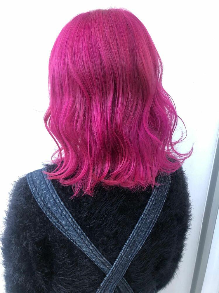 ビビット ピンク!
