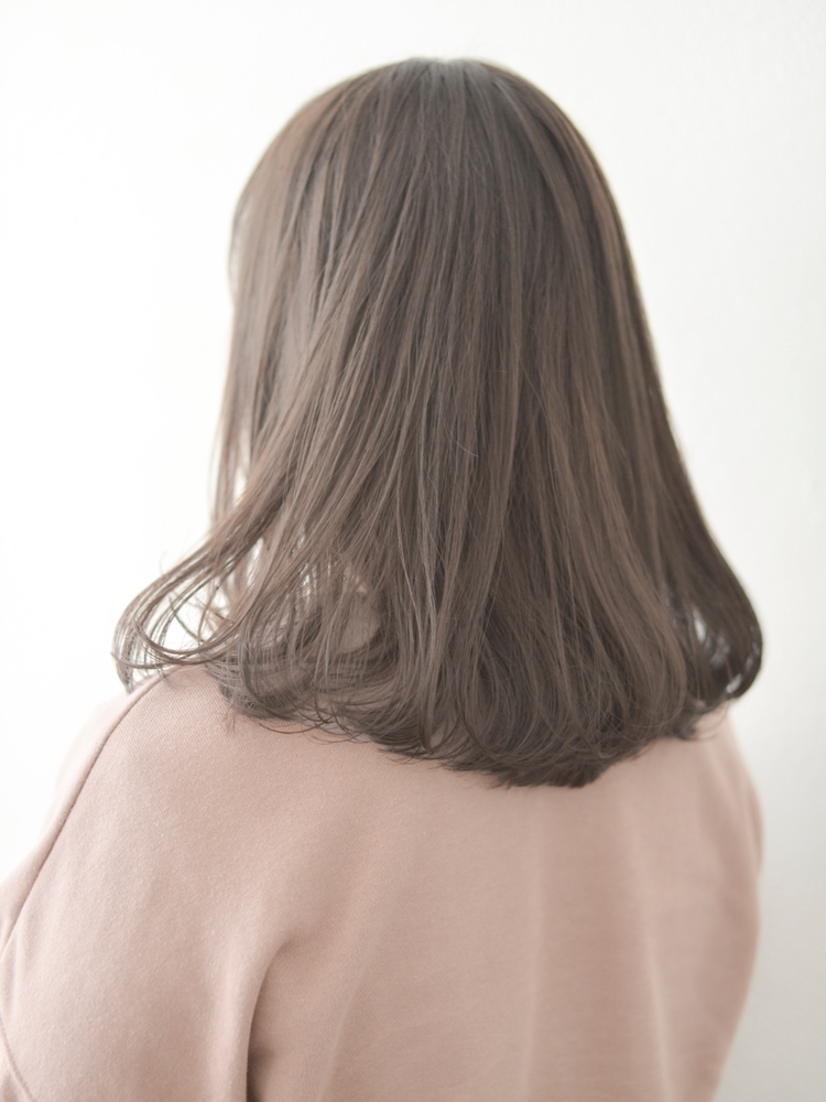 《vicca葵》'ekolu*たっぷり透け感☆重めロブスタイル